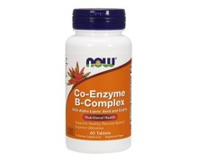 NOW B-Complex Co-Enzyme, Ко-Энзим Б-Комплекс, 60 капсул