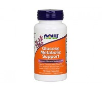 Глюкоз метаболик саппорт, Glucose Metabolic Support NOW Foods, 90 капсул