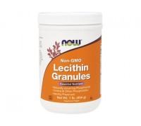 Лецитин Гранулы, Lecithin Granules NOW Foods, 454 гр