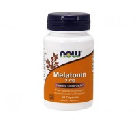 Мелатонин 3 мг, Melatonin NOW Foods, 60 капсул