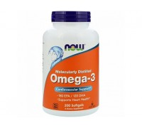 Омега-3 1000 мг, Omega-3 NOW Foods, 200 капсул