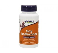 NOW Soy Isoflavones, Изофлавоны Сои 150 мг, 60 капсул