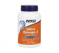 Ультра Омега-3, Ultra Omega-3 NOW Foods, 90 капсул