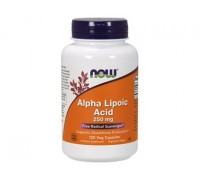 Альфа-Липоевая Кислота 250 мг, Alpha Lipoic Acid NOW Foods, 120 капсул