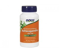 Ашвагандха экстракт 450 мг, Ashwagandha Extract NOW Foods, 60 капсул