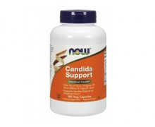 NOW Candida Support, Кандида Саппорт, 180 капсул