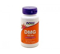 Диметилглицин 125 мг, DMG NOW Foods, 100 капсул