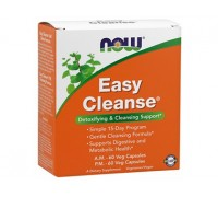 Изи Клинз Комплекс, Easy Cleanse NOW Foods, 2 банки по 60 капсул