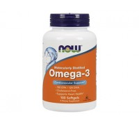 Омега-3 1000 мг, Omega-3 NOW Foods, 100 капсул
