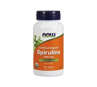 Спирулина 500 мг, Spirulina NOW Foods, 100 таблеток