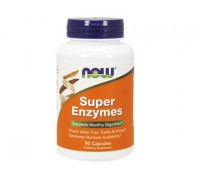 Супер Энзимы, Super Enzymes NOW Foods, 90 капсул