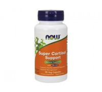 Супер Кортизол Саппорт, Super Cortisol Support NOW Foods, 90 капсул